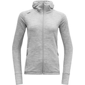 Devold Nibba Jacket Dame grey melange